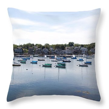 Rockport Ma Throw Pillow