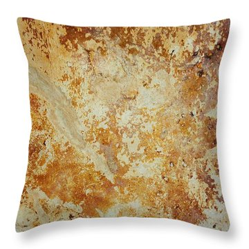 Rockscape 4 Throw Pillow by Linda Bailey