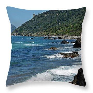 Corfu Throw Pillows For Sale