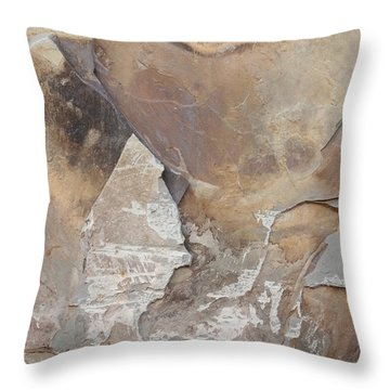 Throw Pillow featuring the photograph Rocky Edges by Jason Williamson