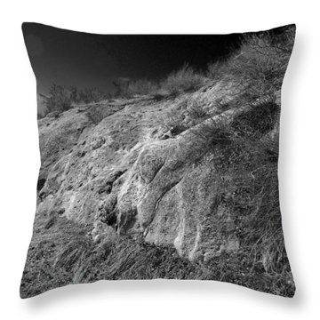 Rocky Face And Sky Throw Pillow