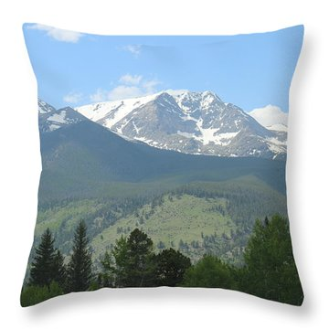 Rocky Mountain National Park - 2 Throw Pillow