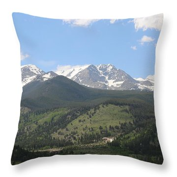 Rocky Mountain National Park - 3  Throw Pillow