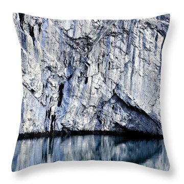 Rocky Reflection Throw Pillow