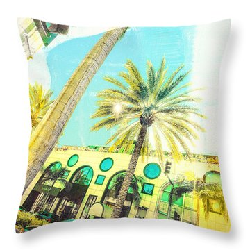 Rodeo Drive Throw Pillow by Susan Stone