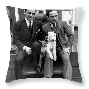 Rodgers And Hart Throw Pillow by Granger