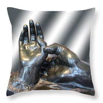 Rodin Series 02 Throw Pillow