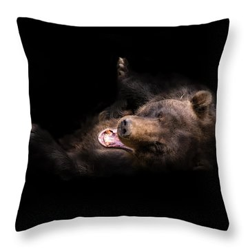 Rofl Throw Pillow