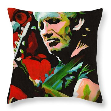 Roger Waters. Breaking The Wall  Throw Pillow