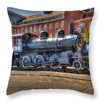 Rogers #299 Throw Pillow