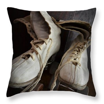 Roll Away Throw Pillow by Michelle Calkins