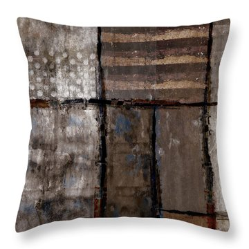 Roll Away The Stone Throw Pillow by Carol Leigh