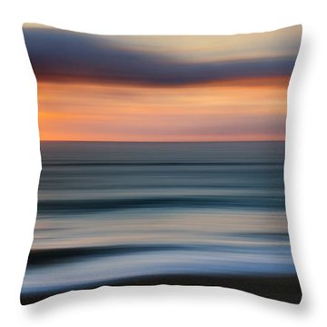Rollers Throw Pillow by Bill Wakeley