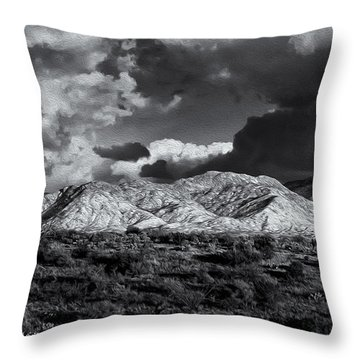 Rollin' Through 57 Throw Pillow