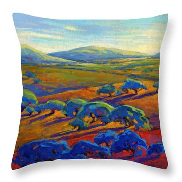 Rolling Hills 2 Throw Pillow