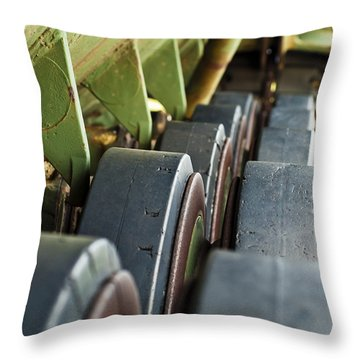 Rolling On Throw Pillow by Christi Kraft
