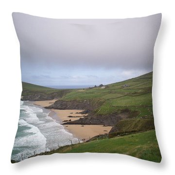 Rolling Waves - Rolling Hills Throw Pillow