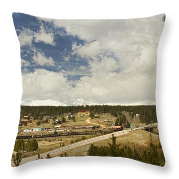 Rollinsville Colorado Throw Pillow by James BO  Insogna