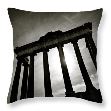 Roman Forum Throw Pillow
