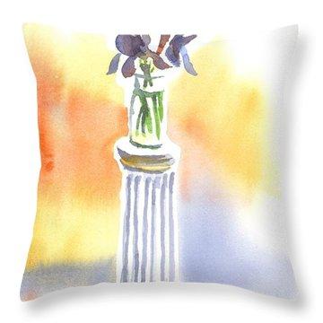 Roman Holiday Throw Pillow by Kip DeVore