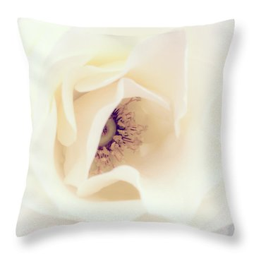 Romance In A Rose Throw Pillow