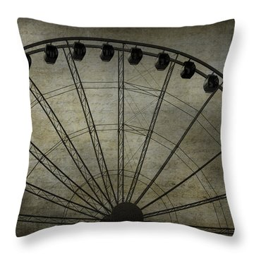 Romance In The Air Throw Pillow