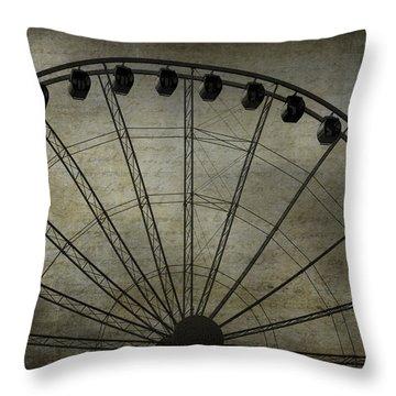 Romance In The Air Throw Pillow