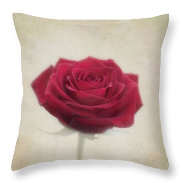 Romance Throw Pillow by Kim Hojnacki