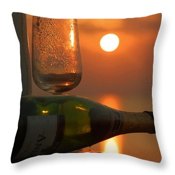 Throw Pillow featuring the photograph Romance by Leticia Latocki