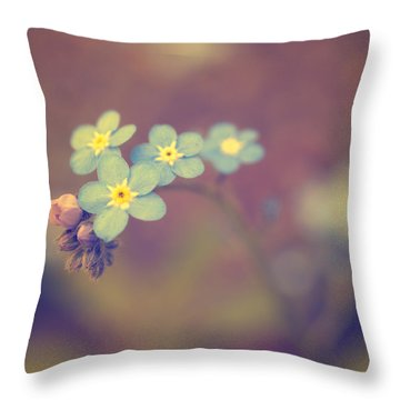 Romance Throw Pillow by Rachel Mirror