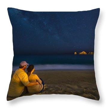 Romantic Cabo San Lucas Throw Pillow