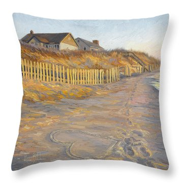 Romantic Getaway Throw Pillow