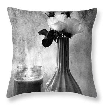 Romantic Light Throw Pillow by Betty LaRue
