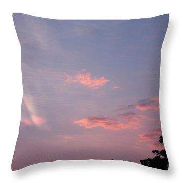 Romantic Sky Throw Pillow