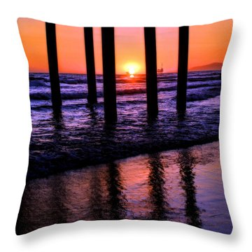 Romantic Stroll Throw Pillow