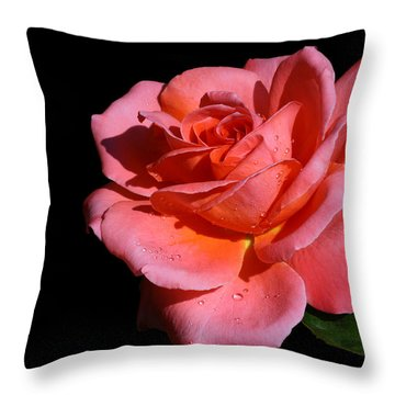 Throw Pillow featuring the photograph Romantica by Doug Norkum
