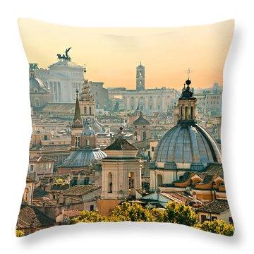Rome - Italy Throw Pillow
