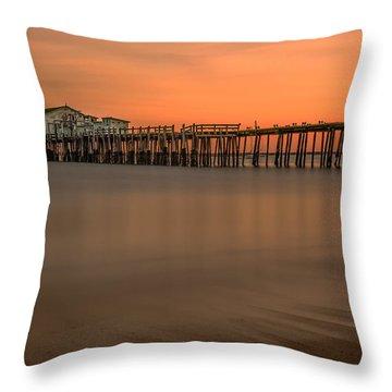 Romeo's Pier Throw Pillow