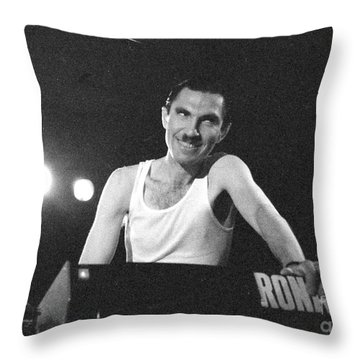 Throw Pillow featuring the photograph Ronald by Steven Macanka