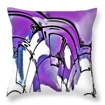 Rondiss Throw Pillow by Susan Maxwell Schmidt
