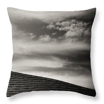 Rooftop Sky Throw Pillow