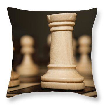 Rook Throw Pillow
