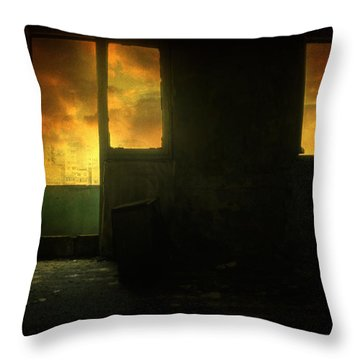 Room 9  Throw Pillow by Taylan Apukovska