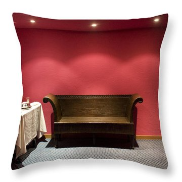 Throw Pillow featuring the photograph Room Service by Lynn Palmer