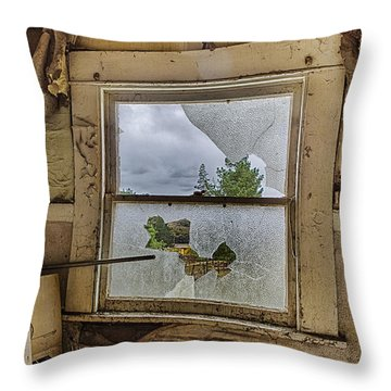 Room With A View Throw Pillow by Caitlyn  Grasso