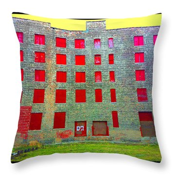 Rooms With No View Throw Pillow