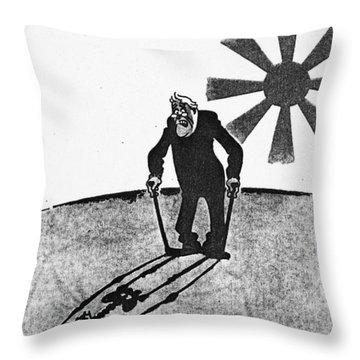 Roosevelt Cartoon, 1941 Throw Pillow by Granger