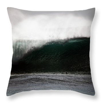 Rooster Tails Throw Pillow