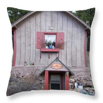 Root Cellar Throw Pillow by Pamela Walrath