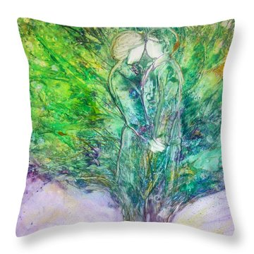 Rooted In Love Throw Pillow